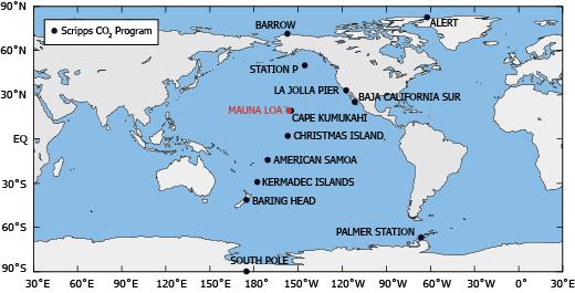 map of mauna loa observatory